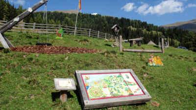 Spielplatz an der Nockalmstraße in Kärnten