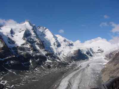 Grossglockner with the Pasterze
