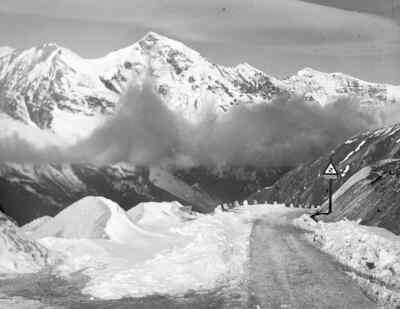 Clouds in front of the Grossglockner