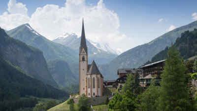 Kirche in Heiligenblut - Urlaub am Großglockner genießen