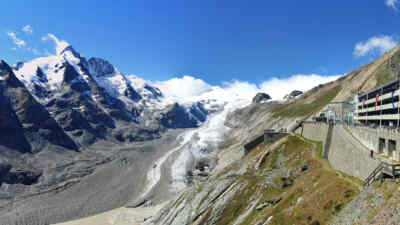 Grossglockner and the Kaiser-Franz-Josefs-Hoehe