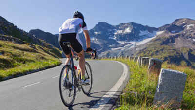 Rennradsportler kommen am Großglockner auch auf ihre Kosten