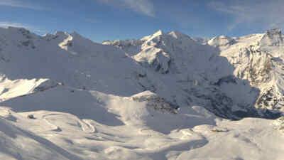Schneelandschaft am Glockner