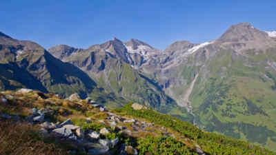 Das Gebirge um den mächtigen Großglockner