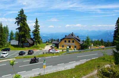 Aichingerhütte an der Villacher Alpenstraße