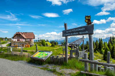Rosstratte an der Villacher Alpenstraße
