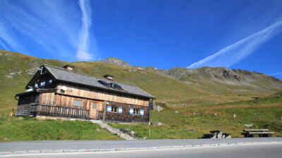 Berghütte Mesenaten