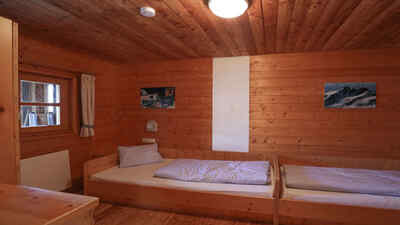 Zimmer Mesenaten Hütte am Großglockner