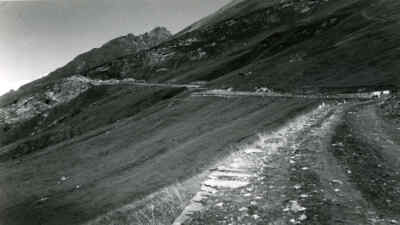 Early route of the Grossglockner High Alpine Road