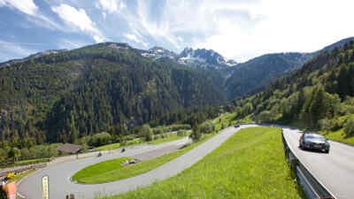 Tour on Gerlos alpine road
