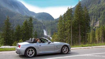 Cabrio Tour on the Gerlos Alpine Road