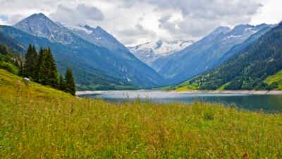Ausblick Gerlos Alpenstrasse