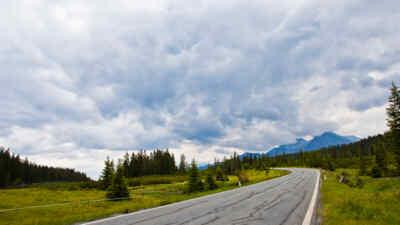 The Gerlos alpine road