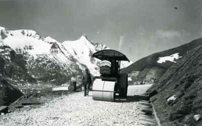 Construction of the Grossglockner High Alpine Road