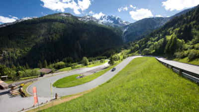 Gerlos Alpine Road
