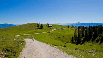Villacher Alpenstraße: Wanderweg