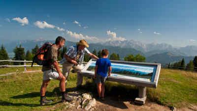 Nationalpark Ranger im Naturpark Dobratsch