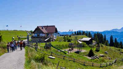 Rosstrattenstüberl im Naturpark Dobratsch in Kärnten