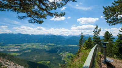 Imposante Aussicht von der Villacher Alpenstraße