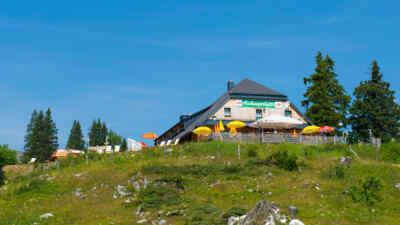 view on aichingerhütte