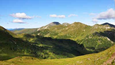 Blick vom hohen Steig zum Rosennock